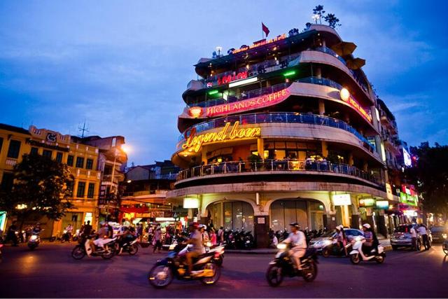 36 street ola quarter - Hanoi itinerary