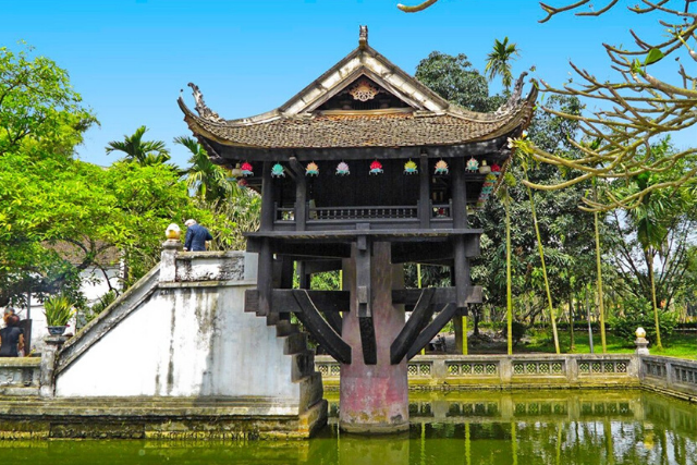 One Pillar Pagoda - hanoi itinerary