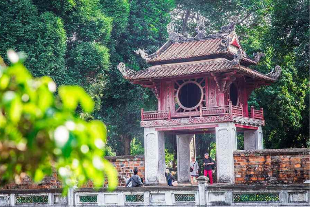 Temple of Literature - hanoi itinerary