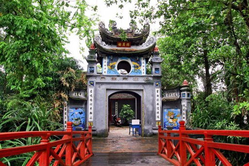 Ngoc Son temple - Pagodas in and around Hanoi