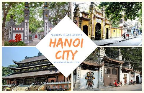 Hanoi city - Pagodas in and around Hanoi